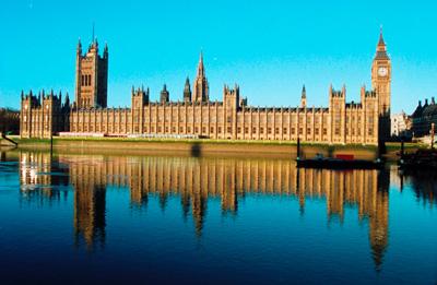 Парламентът в лондон архитектурен